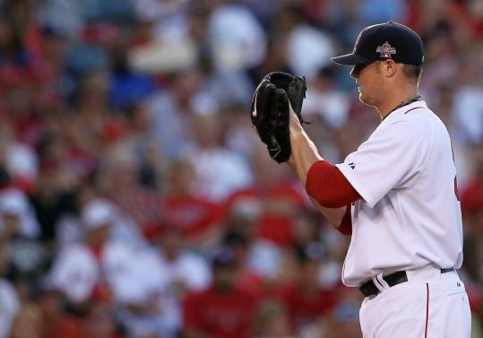 Jon Lester worked a perfect sixth inning for the American League Tuesday night, his first appearance in the All-Star Game.