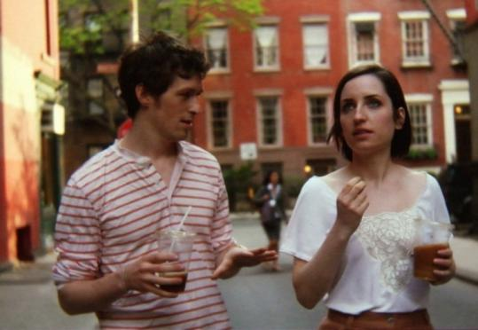"Daryl Wein and Zoe Lister-Jones in ""Breaking Upwards,'' which is based on a chapter in their real-life relationship."