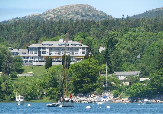 Asticou Inn in Northeast Harbor, a grand dame built in 1883, is being spruced up by US Hotels, which manages the White Barn Inn in Kennebunkport.