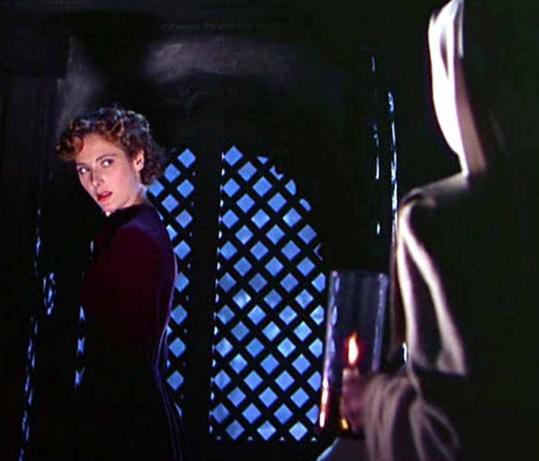 "Kathleen Byron in a scene from Michael Powell's ""Black Narcissus,' winner of the 1947 Oscar for best color cinematography."