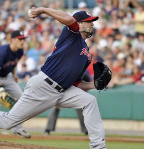 Making his second rehab start for Pawtucket, Josh Beckett said his back felt fine after throwing four-plus innings.