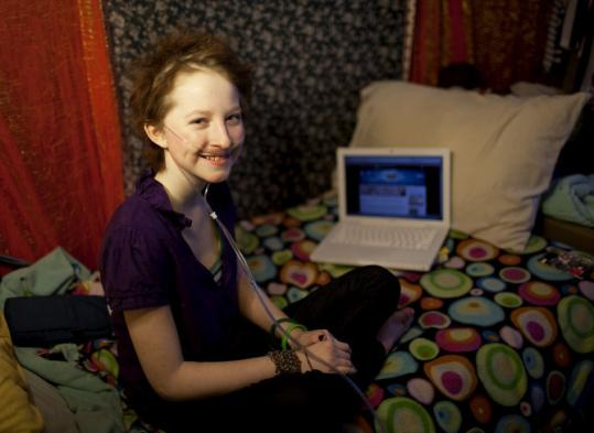 Esther Earl, 15, of Quincy got involved with the Harry Potter world when she was diagnosed with cancer.