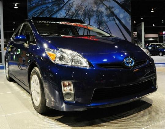 The third-generation Toyota Prius contains hybrid-engine technology that was an issue in the patent dispute.
