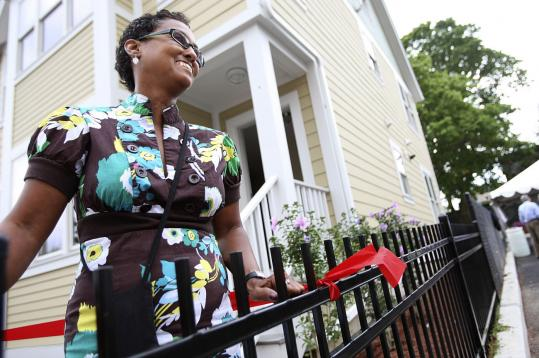 'It's an amazing transformation. This means stability, fulfilling the American dream,' said Ivelese Rivera, a Roxbury resident who hopes to buy one of the new townhouses.