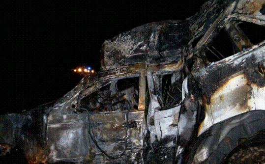 Michael Canty, 23, of Mattapoisett is facing charges in this accident on Interstate 195 in Swansea, State Police said.