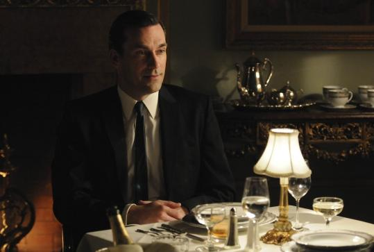 Returning cast members include Jon Hamm as Don Draper.