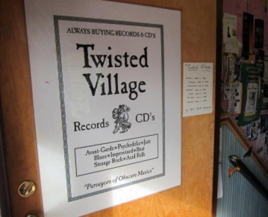Cambridge record store Twisted Village will close Sunday.