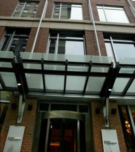 The Nine Zero Hotel had a boost in revenue per available room.
