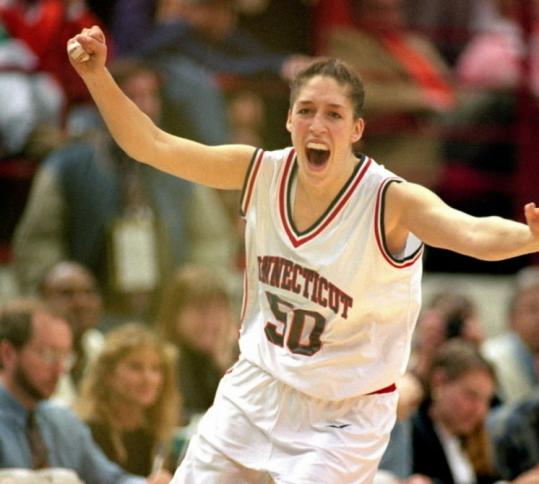"Rebecca Lobo describes her father's quiet but firm support during her basketball days in ""Fathers & Daughters & Sports.''"