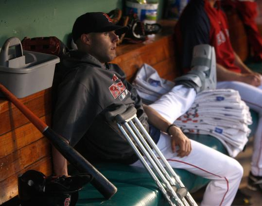 Star second baseman Dustin Pedroia is but one of many Red Sox players to wind up on the disabled list this season.