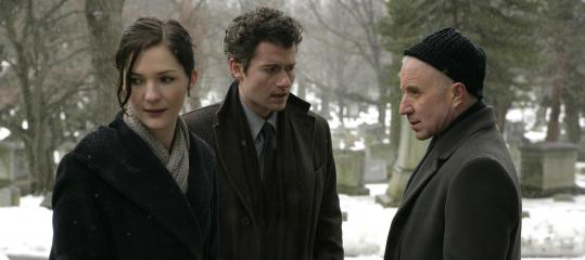 "From left: Jessica Collins, James Badge Dale, and Arliss Howard in AMC's mysterious ""Rubicon.''"