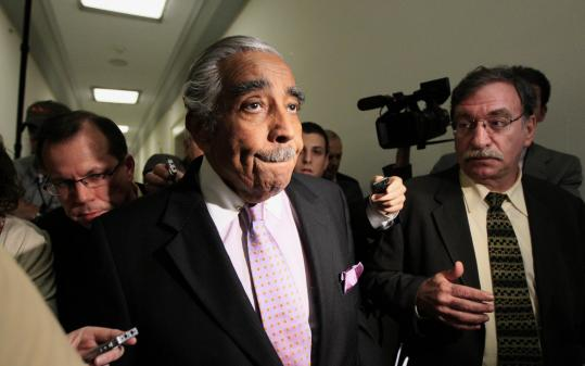 Representative Charles Rangel of New York has denied allegations that he violated House rules and federal law. Among the charges was an alleged failure to report more than $600,000 in income on his financial disclosure forms.