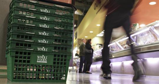 Whole Foods Market Inc. said third-quarter net income jumped as sales rose and costs fell. Whole Foods said it earned $65.7 million, or 38 cents per share, for the quarter. That's up 88 percent from $35 million, or 25 cents per share, a year earlier.