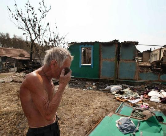 Russian Wildfires Out Of Control Official Says The