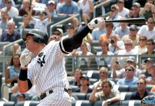 Alex Rodriguez, who admitted using steroids during three seasons in Texas, is the seventh player to hit 600 homers.