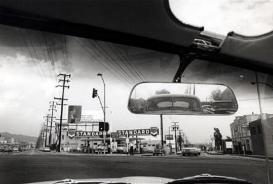 "Dennis Hopper's image ""Double Standard'' (1961) at Geffen Contemporary in Los Angeles."