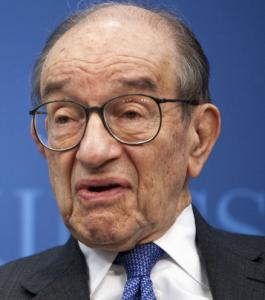 Alan Greenspan's stance puts him at odds with conservative orthodoxy.