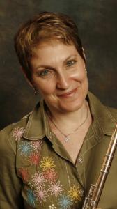 Laura Gilbert, artistic director and flutist for the Monadnock Music Festival.
