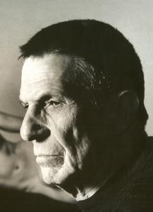 Leonard Nimoy, ''Self Portrait With Shekhina.''