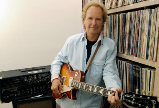 Lee Ritenour in a Los Angeles studio.