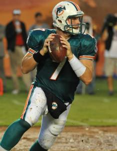 "Miami QB Chad Henne said Saturday's exhibition was ""not a good effort from our offense.''"