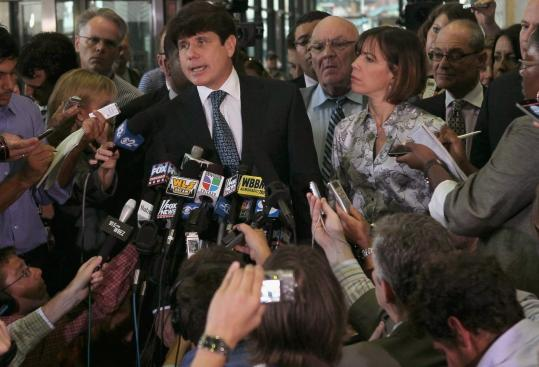 """They could not prove I did anything wrong — except for one nebulous charge,'' Rod Blagojevich said yesterday."