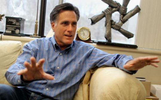 Mitt Romney is now trying to downplay social issues.
