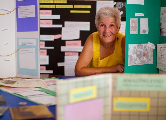 Judy Izenberg's research turned up piles of documents.