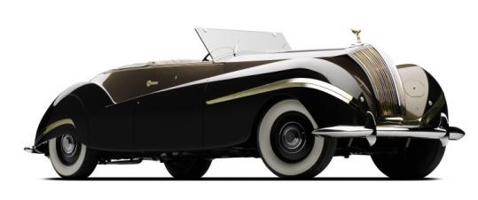 This 1939 Rolls-Royce will appear at the Concours d'Elegance.