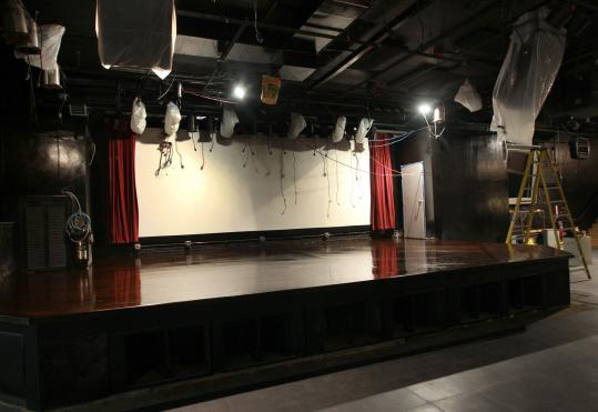 The stage at the Paradise rock club has been moved 15 feet to give fans an unobstructed view of performers. Patrons have long complained about a pole that blocked the view.