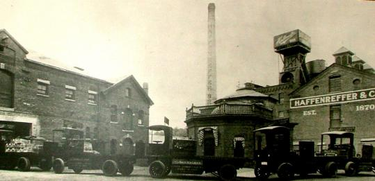 August Haffenreffer was proud of the beer produced at his family's Boston brewery.