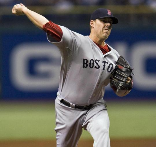 The Red Sox provided John Lackey with a 3-1 lead, but he couldn't hold off Tampa Bay.