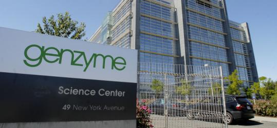 Some expect a higher bid for Genzyme and say the company may be trying to spur that, despite saying it isn't for sale.