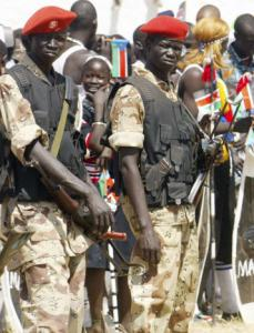 Southern Sudan soldiers have been accused by human-itarian groups of obstruction, hijacking, and harassment.