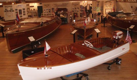 The New Hampshire Boat Museum in Wolfeboro showcases many a wooden boat that might otherwise have gone to the burn pile.