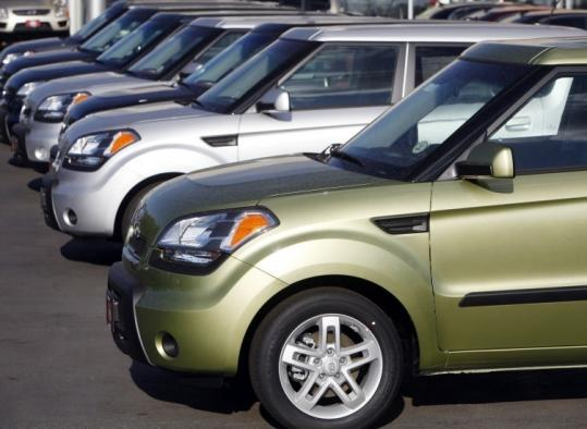 The Kia recall affects about 24,000 Soul compact wagons (above) from the 2010 model and more than 11,000 Sorentos.