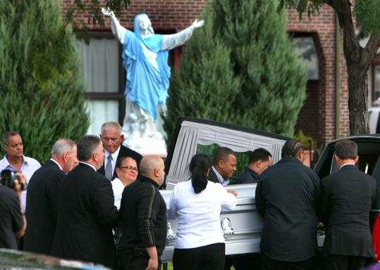 Richel Nova's funeral Mass was at Most Holy Redeemer Church in East Boston yesterday. Burial was in Everett.