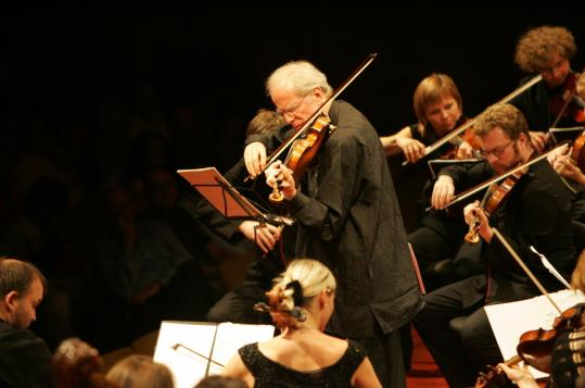 Violinist Gidon Kremer and his ensemble, the Kremerata Baltica, are touring behind a new album this fall.