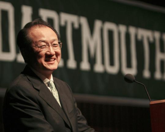 """In five years, there have to be 15, 20 of these [programs] around the country, working together."" — Dr. Jim Yong Kim, Dartmouth College president."