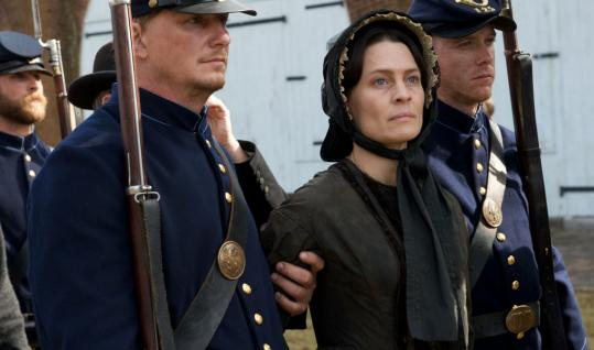 """Robin Wright in """"The Conspirator,'' Robert Redford's film about the Lincoln assassination."""