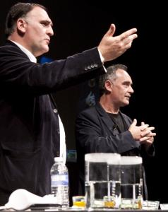 Jose Andres (left) and Ferran Adria.