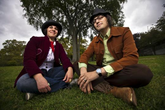 """Jen de la Osa and Henry Beguiristain, who both have roots in Cuba, make up the band Aloud. They are releasing their third album, """"Exile.''"""