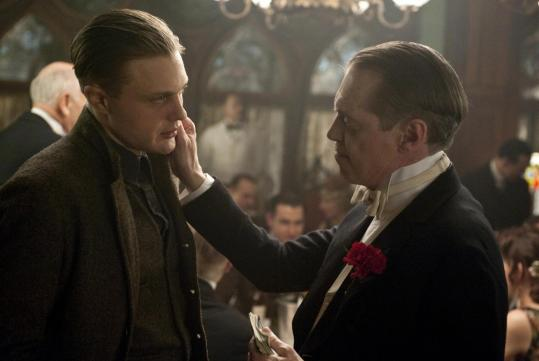 Michael Pitt (left) and Steve Buscemi star in HBO's latest gangster saga.