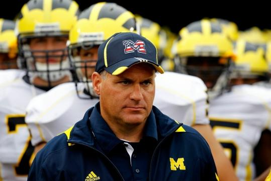 Rich Rodriguez was on the hot seat in Ann Arbor, but two wins have cooled him off.