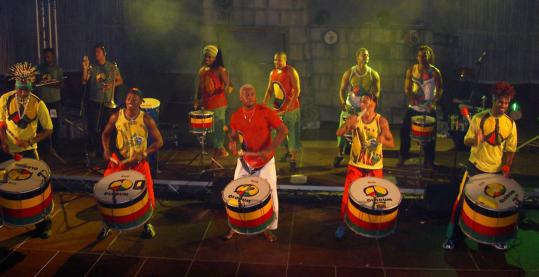With a boost from Paul Simon, the Brazilian percussion ensemble Olodum has spread its samba-reggae beat to other countries.