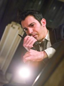 "Chris Messina plays a grieving detective in ""Devil.''"