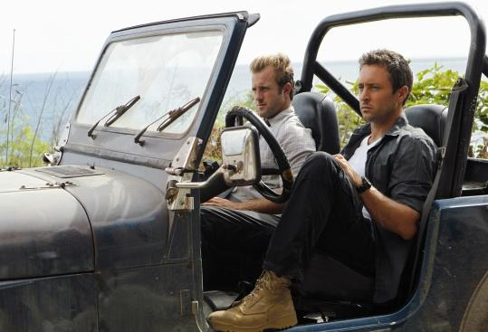 "Scott Caan (left) plays Detective ""Danno'' Williams and Alex O'Loughlin is Detective Steve McGarrett in ""Hawaii Five-0.''"