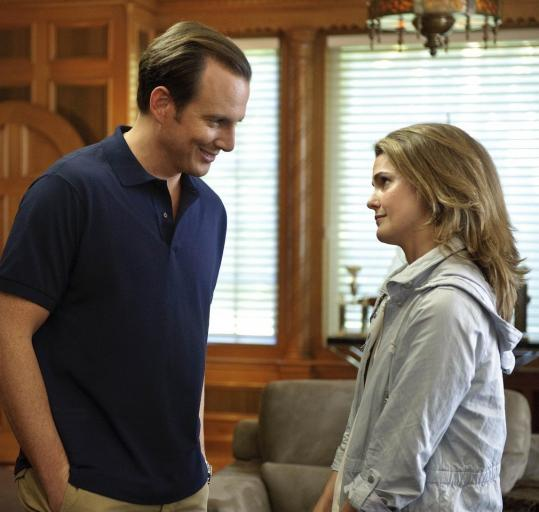 Will Arnett plays an oil-company heir and Keri Russell an environmentalist.