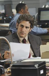 "Former ""Sopranos'' star Michael Imperioli plays grizzled cop Louis Fitch on the new ABC drama ""Detroit 1-8-7.''"