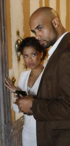 Gugu Mbatha-Raw and Boris Kodjoe play married spies.